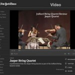 Video: Nan Melville for NY Times: Jasper String Quartet, 2007