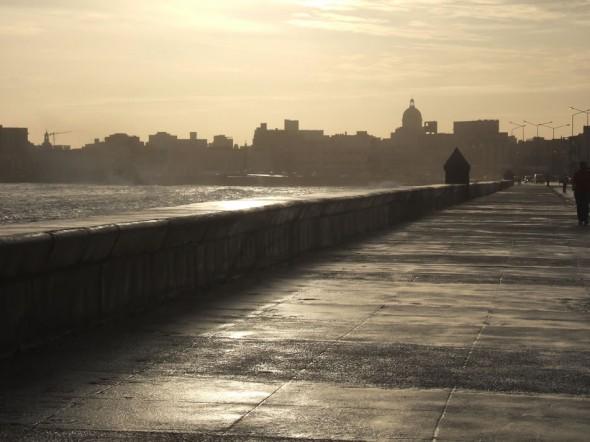 Sunrise - Malecón Sea Wall; Havana, Cuba; 2006