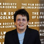 Billie Jean King; Film Society of Lincoln Center; New York City; 2006