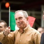 Mayor Michael Bloomberg; Columbus Day Parade; New York City; 2008