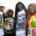 Spectators; Obama inauguration; 2009