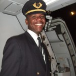 Captain of South African Airways aircraft