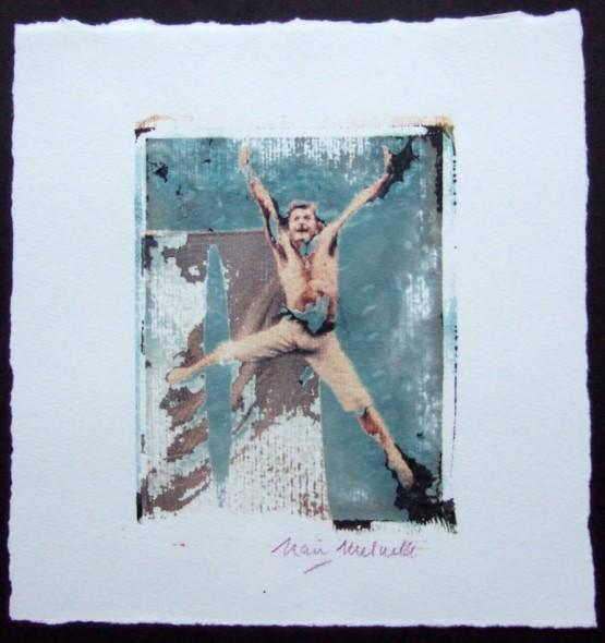 Image Polaroid; Baryshnikov; Nan Melville; New YorkCity; 2005