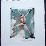 Image Polaroid; Baryshnikov; New YorkCity; 2005
