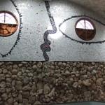 Decorative wall; artist José Rodríguez Fuster; Cuba; 2006