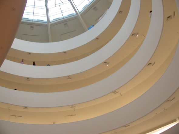 Guggenheim Museum, Gallery, New York, 2009