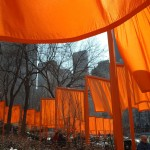 The Gates is a site-specific work of art by Christo and Jeanne-Claude, Central Park, New York, 2004