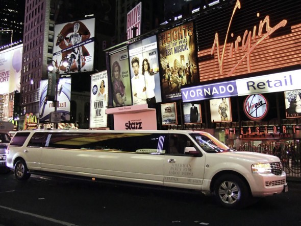 Stretch Limo, Broadway, Times Square, New York, 2009