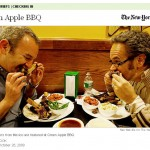 Green Apple BBQ, Restaurant, New York, 2009