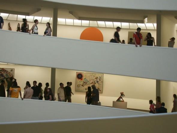 Guggenheim Museum, modern & contemporary international art gallery, New York, 2006