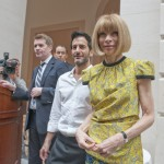 Marc Jacobs designer and editor-in-chief American Vogue, Anna Wintour, The Model as Muse, Costume Institute, Press preview