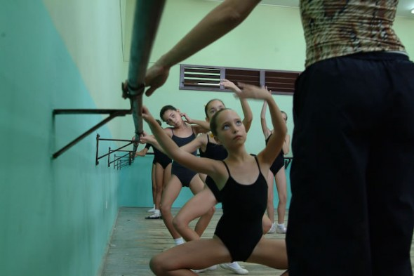 Young girls in dance class, Havana, Cuba, 2006