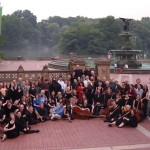 Group of 80 Early Musicians of New York, Bethesda Fountain, Central Park