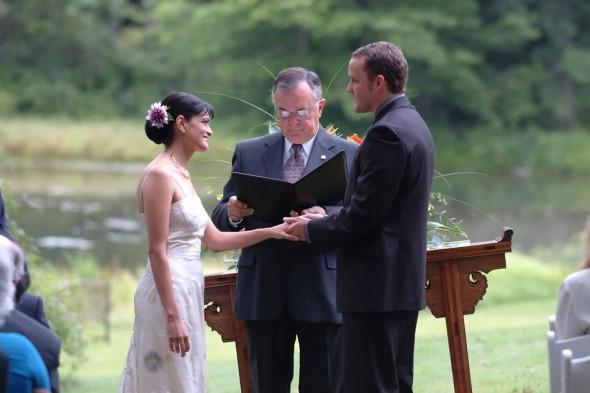 Wedding, Marika and Stephen