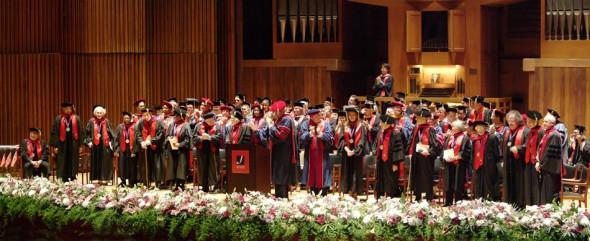 Juilliard School Graduation, New York, 2005