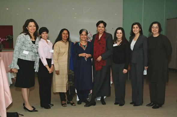 Leaders of SAWLF for the advancement and interaction of women of South Asia