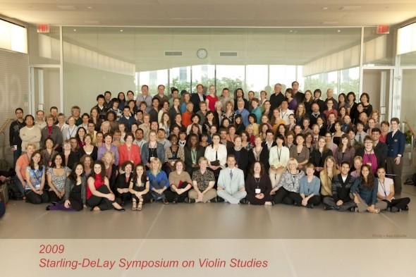 Starling-DeLay Symposium on Violin Studies, The Juilliard School, New York, 2009