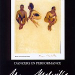 Nikolais-Louis Polaroid Image from 'Dancers in Performance' Exhibition, Princeton Ballet School