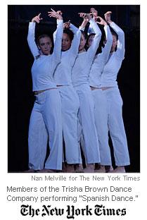 Trisha Brown Dance Company, 2009