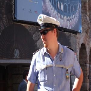 Traffic Policeman, Verona, Italy, 2006