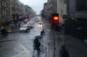 Rainy day, Dublin, Ireland, 2003
