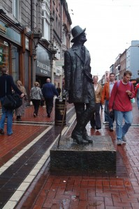 James Joyce Statue, Dublin, Ireland, 2003