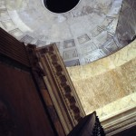 Ceiling, Pantheon dome, Rome, Italy, 2006