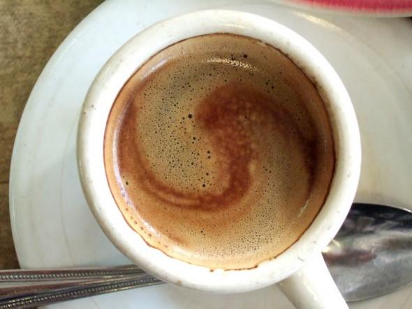 Café con Leche; La Rosita restaurant