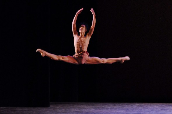Jim Nowakowski as Acteon (Diana & Acteon); YAGP; New York; 2007