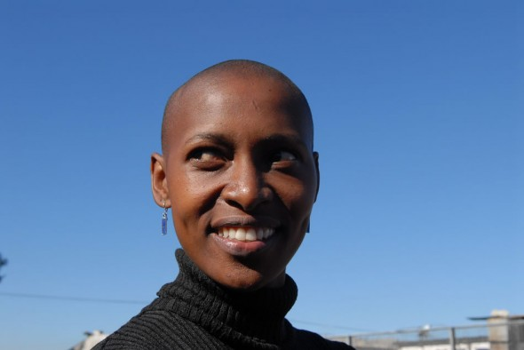 Mamela Nyamza; South African contemporary dancer; Cape Town; 2008