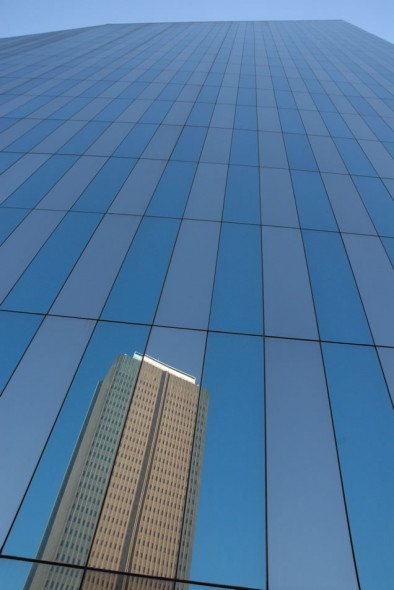 Reflection; buildings; Johannesburg