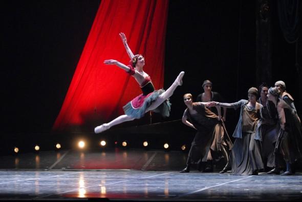 Red Giselle, Eifman Ballet, City Center, New York, 2007