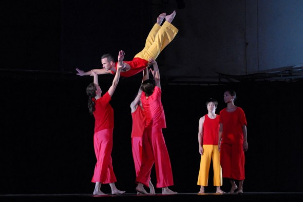 Trisha Brown, Present Tense, Lincoln Center Out of Doors, New York, 2003