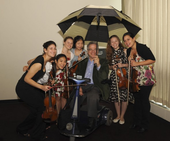Itzhak Perlman, Master Class students, Starling-DeLay Symposium, 2009