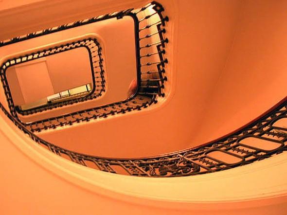 Stairwell, Goethe-Institut, Museum, New York, 2003