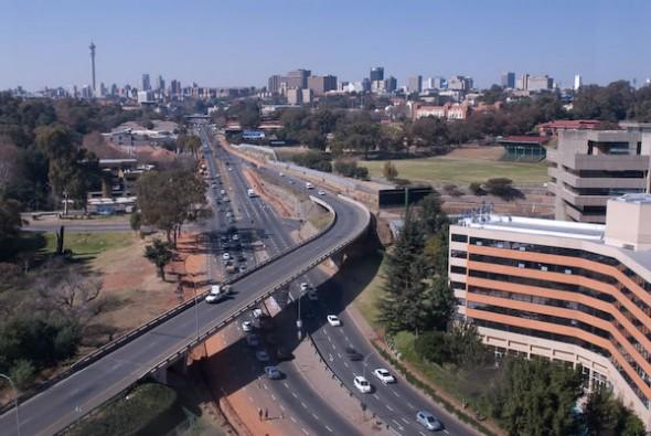 City Scape, Johannesburg, 2008