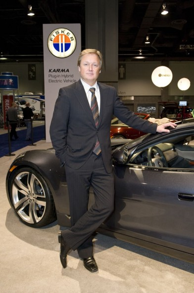 Henrik Fisker, Car Designer, Fisker Automotive, Washington, D.C., 2009