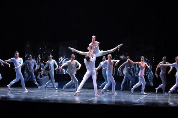 Eifman Ballet; RED GISELLE at City Center, Nina Zmievets, Yuri Smekalov, New York, 2007