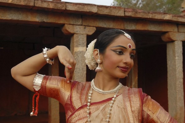 Pavithra Reddy, Nrityagram Classical Indian dancer, Bangelore, India, 2008
