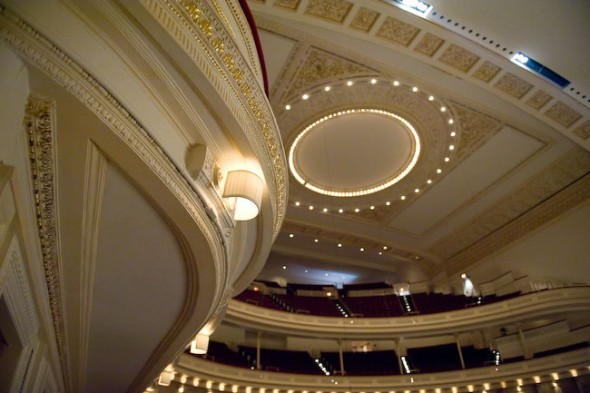 Carnegie Hall Auditorium, New York, 2008