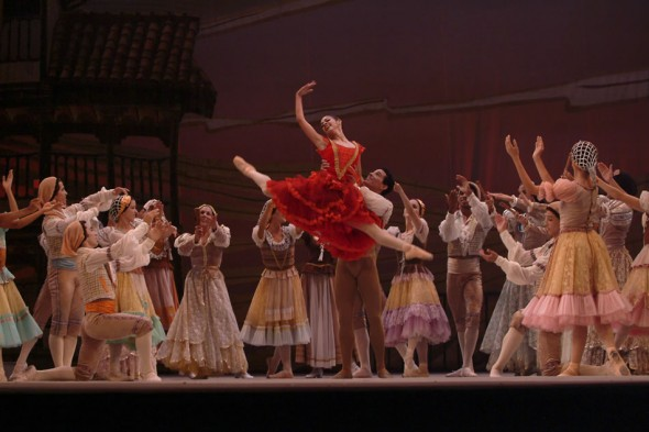 Kitri in Don Quixote, International Ballet Festival, Havana, 2004