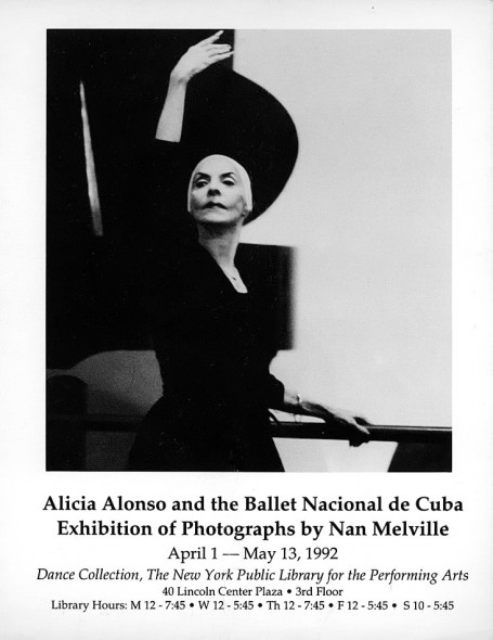 Alicia Alonso, Ballet Nacional de Cuba, Photographic Exhibition, Dance Collection, New York Public Library for the Performing Arts, Lincoln Center